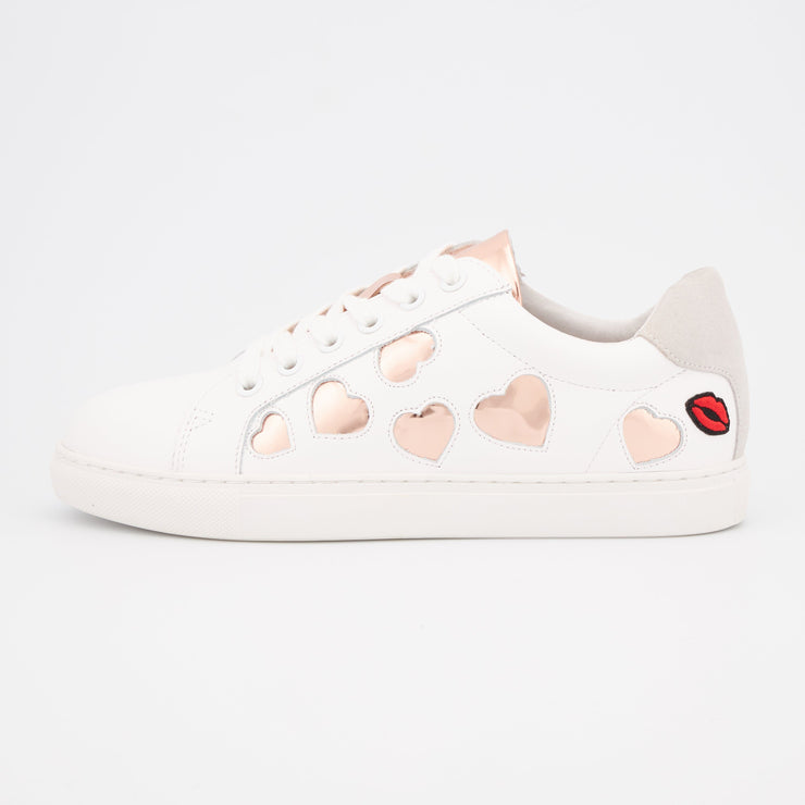 SNEAKERS SIMONE - Simone Hearts-Rose Gold
