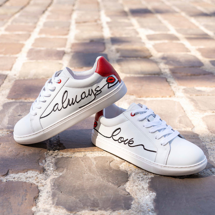 SNEAKERS SIMONE - Simone-Love Always Black Ink