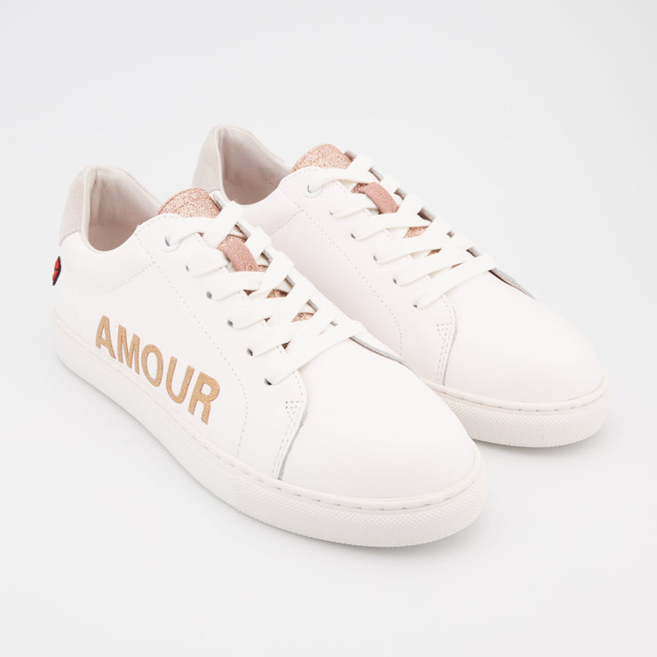 SNEAKERS SIMONE - Simone Love Letters-Rose Gold