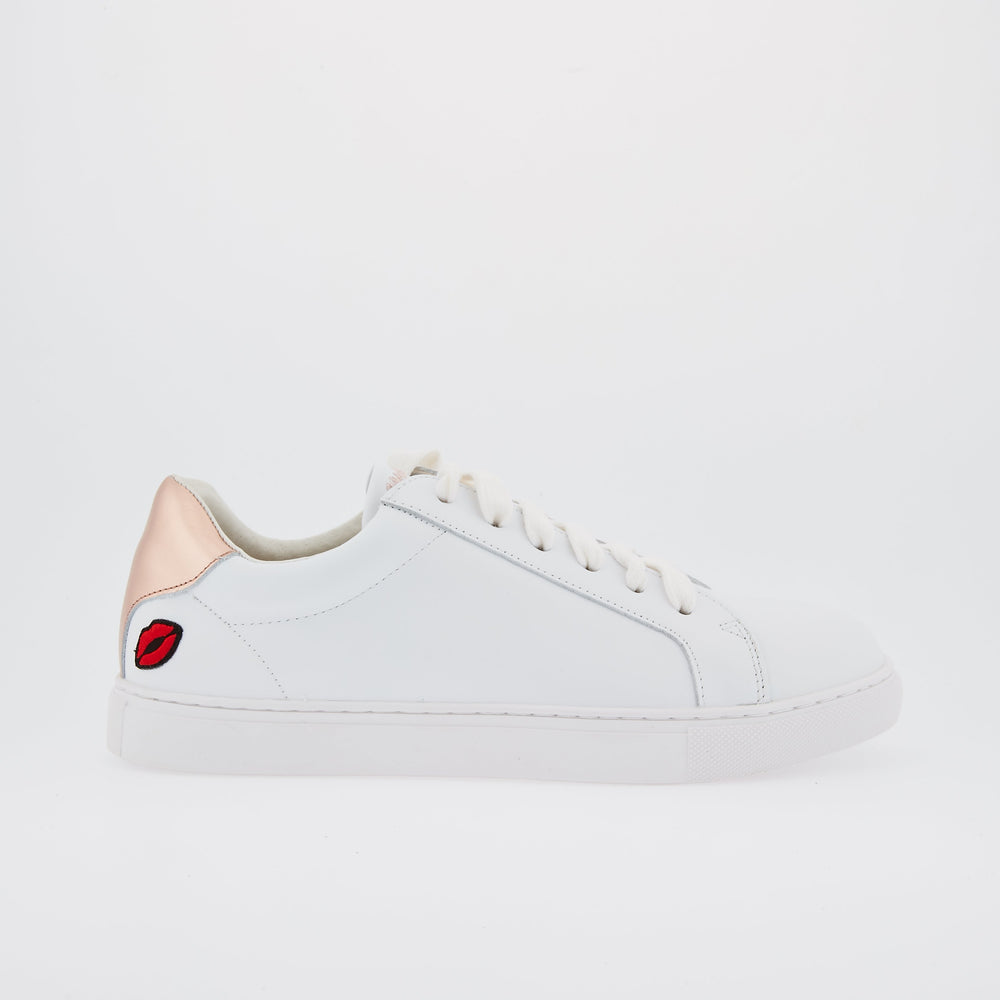 SNEAKERS SIMONE - Sneakers Simone Petit Amour Or Rose