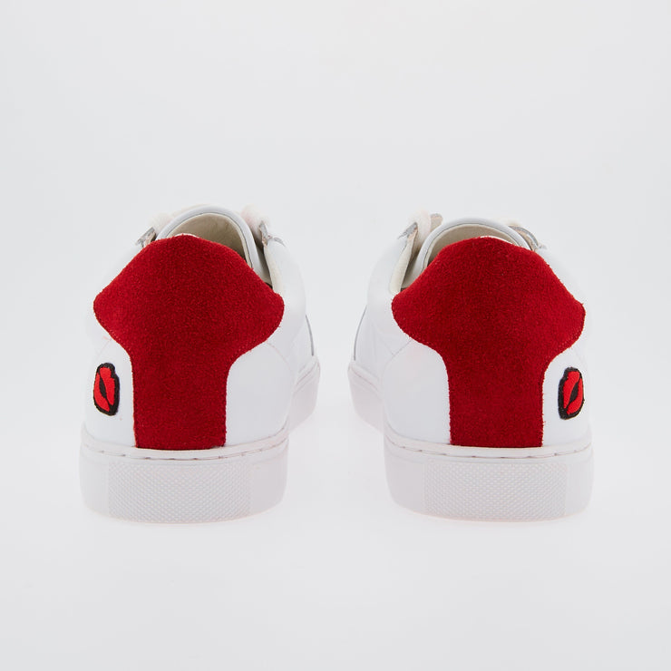 SNEAKERS SIMONE - Sneakers Simone Petit Amour Rouge