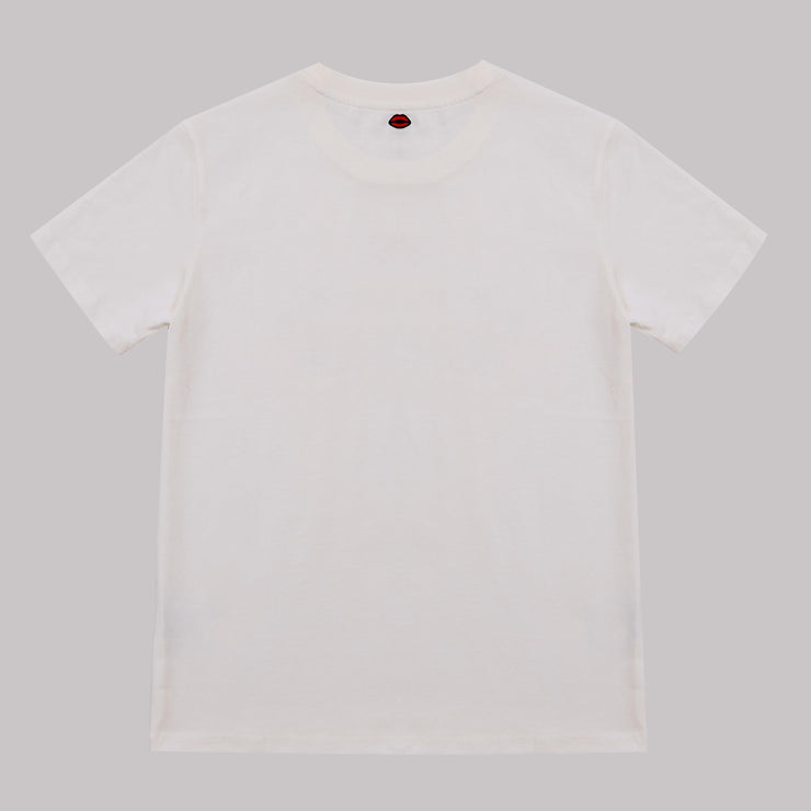 T-SHIRT - T Shirt French Kiss Blanc