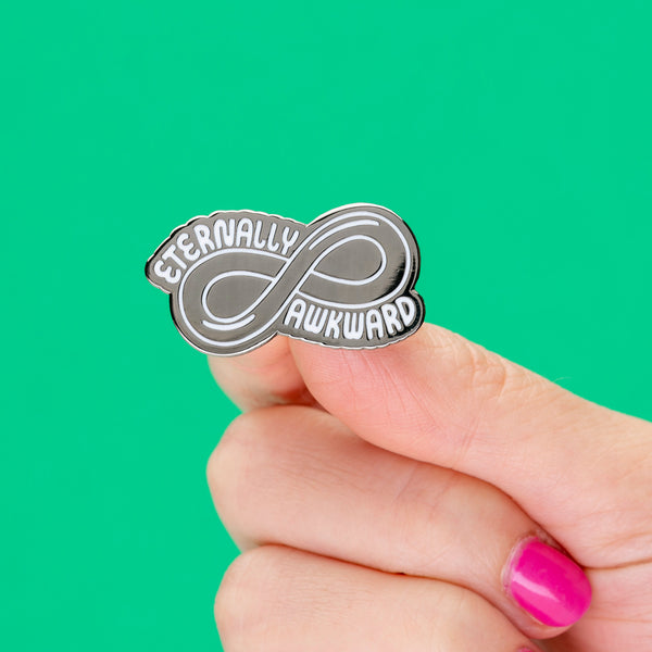 Eternally Awkward Enamel Pin