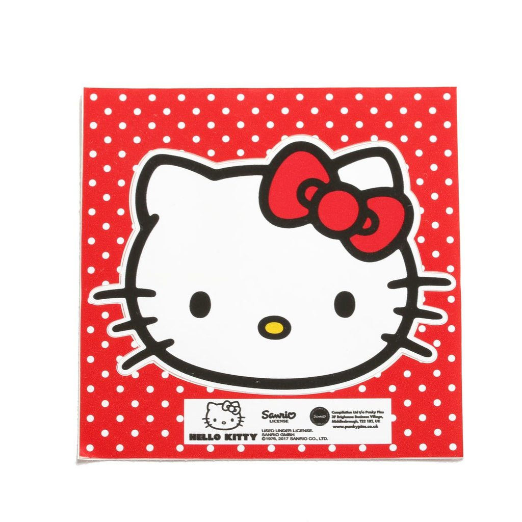 Hello Kitty Classic Pose Vinyl Sticker
