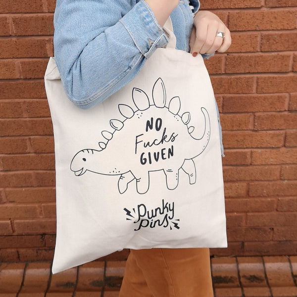 No Fucks Given Tote Bag