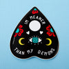 Meaner Than My Demons Planchette Laptop Sticker