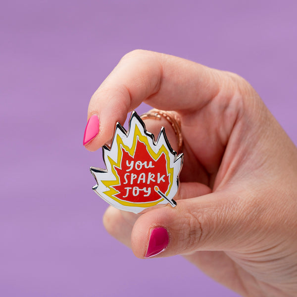 You Spark Joy Enamel Pin
