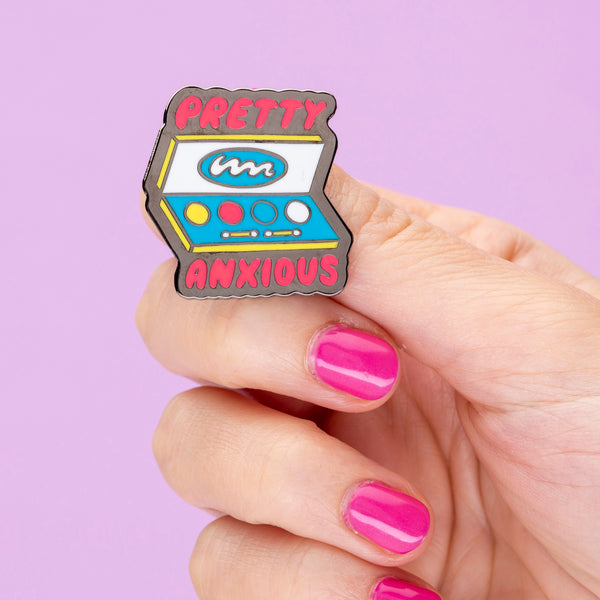 Pretty Anxious Enamel Pin