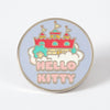 Hello Kitty Mermaid Castle Enamel Pin