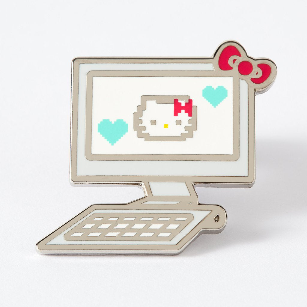 Hello Kitty Computer Enamel Pin