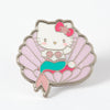 Hello Kitty Mermaid Clam Enamel Pin