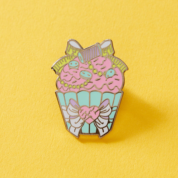 Crafty Cupcake Enamel Pin