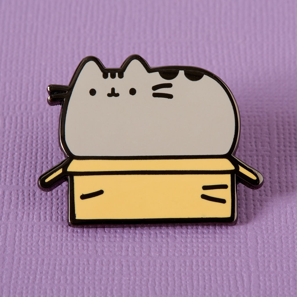 Pusheen in a Box Enamel Pin