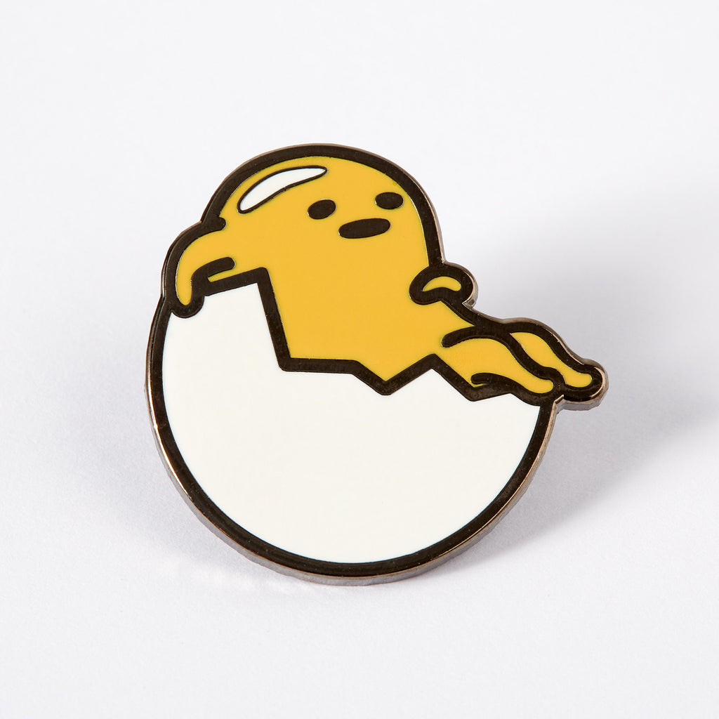 Gudetama Just Chillin Enamel Pin