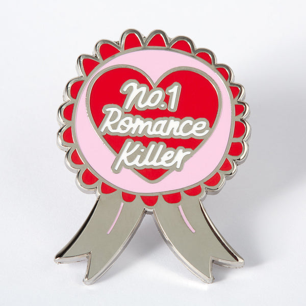 No.1 Romance Killer Enamel Pin