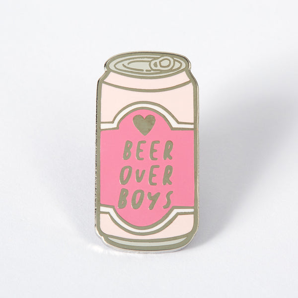 Beer Over Boys Enamel Pin