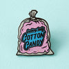 Cotton Candy Enamel Pin