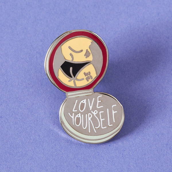 Love Yourself Enamel Pin