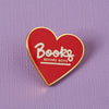 Books Before Boys Enamel Pin