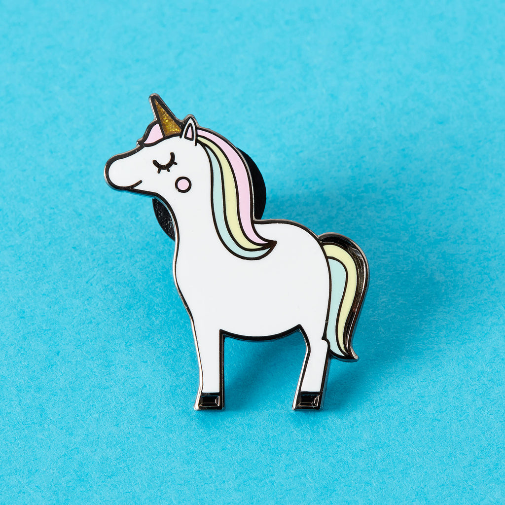 Kawaii Unicorn Enamel Pin