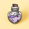 Love Potion Bottle Enamel Pin