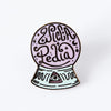 Wiccapedia Crystal Ball Enamel Pin