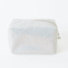 Silver Glitter Make Up Bag