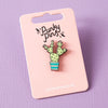 Prickly Pear Cactus Enamel Pin