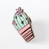 Pincushion Cactus Enamel Pin