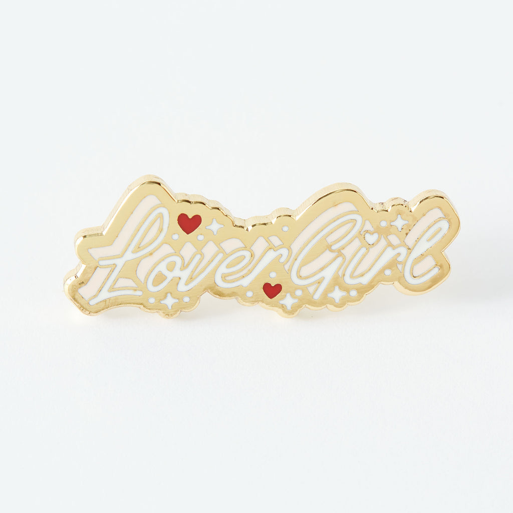 Lover Girl Enamel Pin