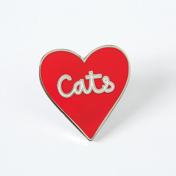 Love of Cats Enamel Pin