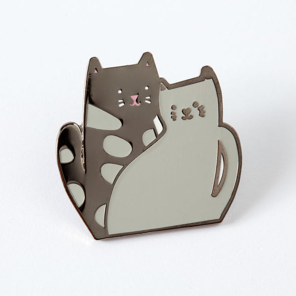 Cat-twins Enamel Pin