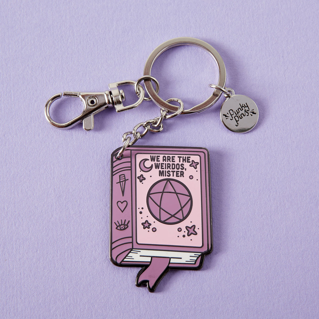 We Are The Weirdos Mister Enamel Keyring