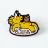 Chill Dinosaur Enamel Pin