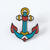 Anchor Tattoo Inspired Enamel Pin