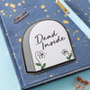 Dead Inside Tombstone Laptop Sticker
