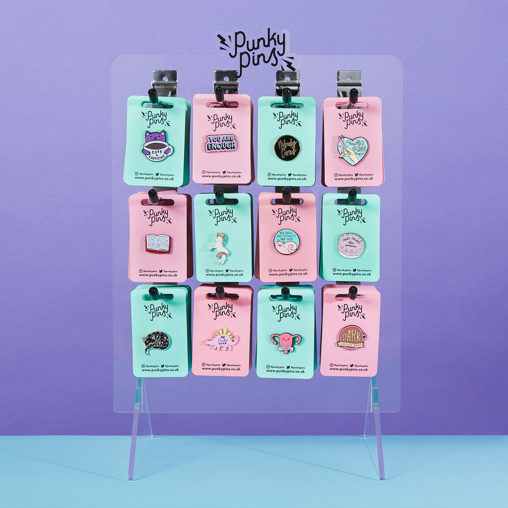 Punky Pins Point of Sale Retail Display
