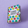 Stationery Planner Addict Enamel Pin