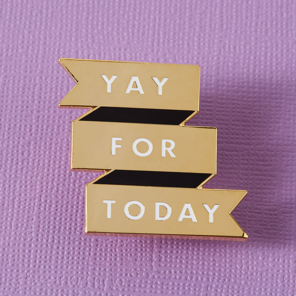 Abbey Withington Yay for Today Enamel Pin
