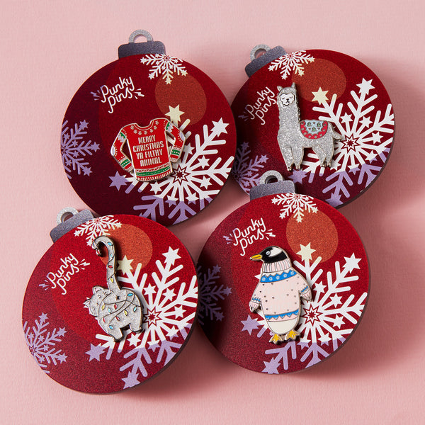 Christmas Bauble with Pin