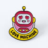Love Machine Enamel Pin