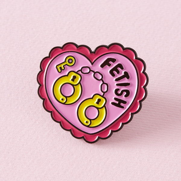 Fetish Enamel Pin
