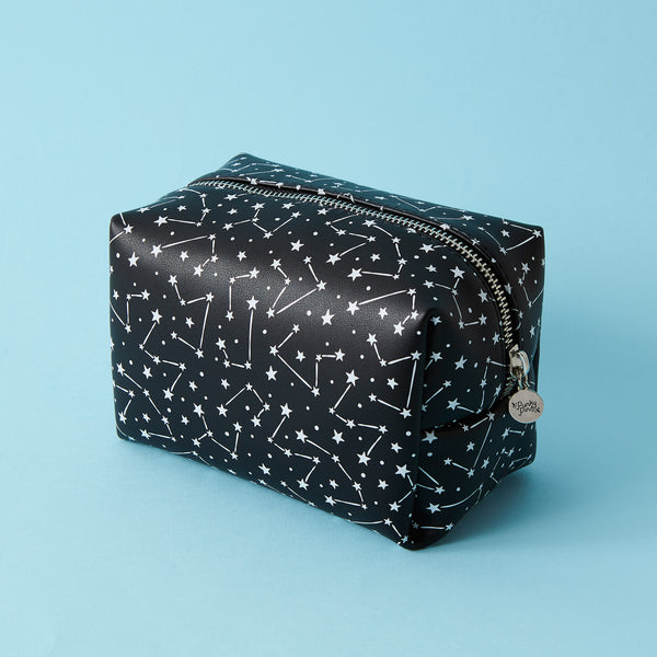 Monochrome Constellation Make Up Bag