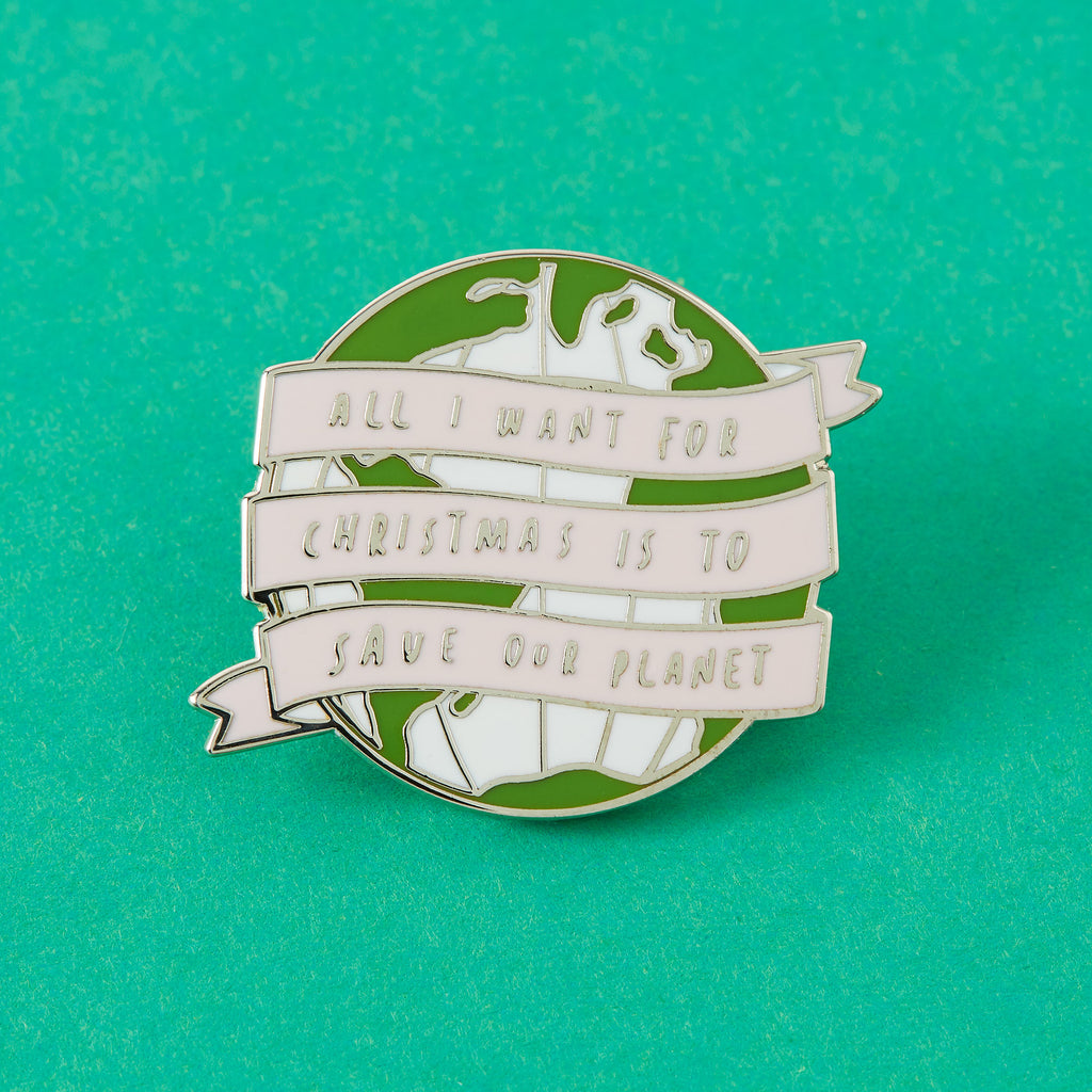 All I Want For Christmas Enamel Pin