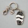 There'd Better Be Cats Enamel Keyring