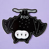 Spooky Boo Bat Laptop Sticker