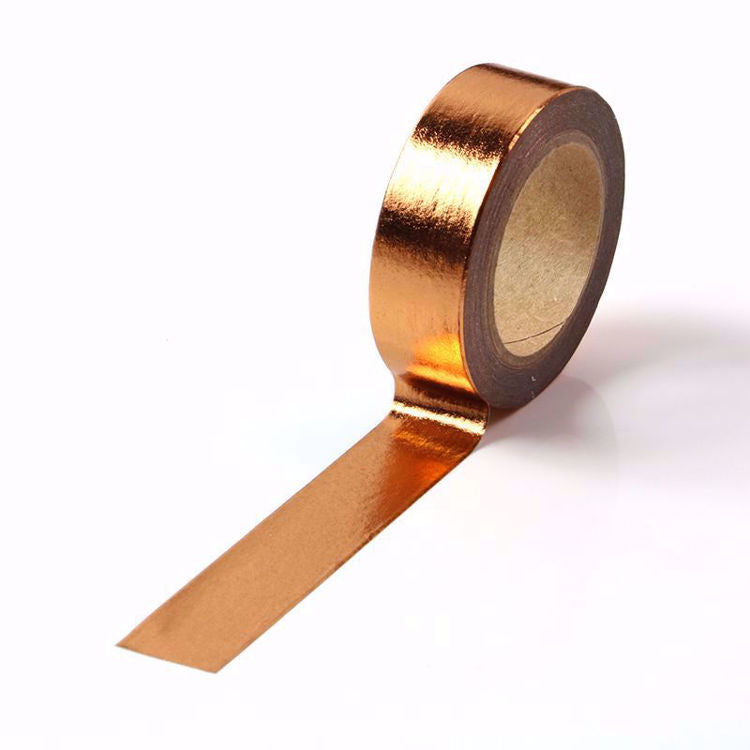 Copper Gold Foil Washi Tape