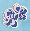 Girls Large Vinyl Sticker