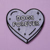 Punky Pins Dogs Forever Iron On Patch