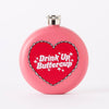 Punky Pins Drink Up Buttercup Hip Flask